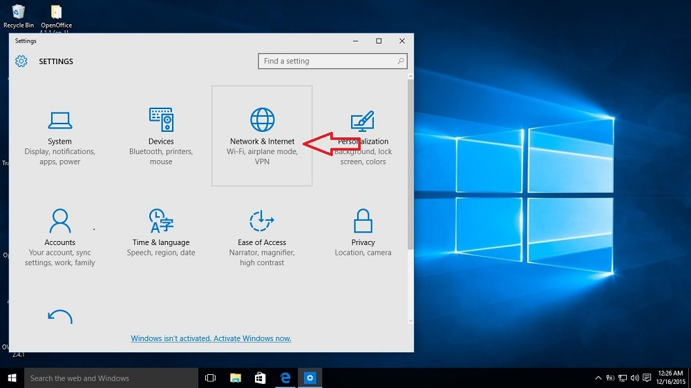how to get a vpn on windows 10